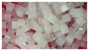Manufacture coconut jelly clean